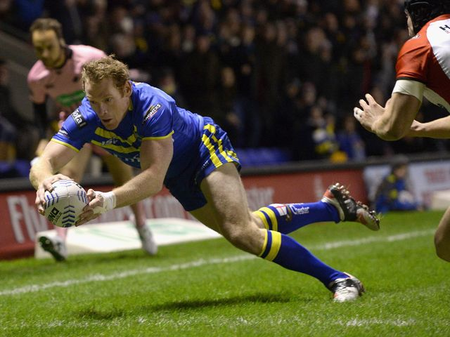Joel Monaghan: Century of tries for Warrington