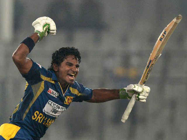 Kusal Perera's century paved the way for victory