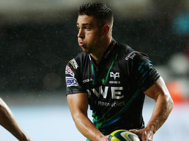 Rhys Webb: Try for Ospreys