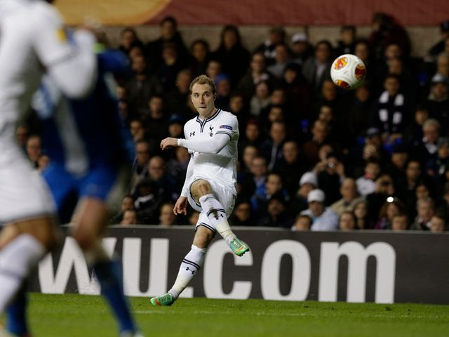 Christian Eriksen scores for Tottenham