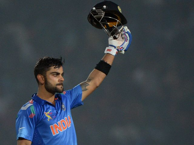 Virat Kohli: Hit a sparkling 136 for India