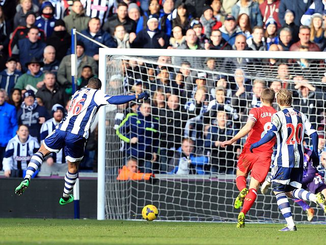 Victor Anichebe scored West Brom's equaliser