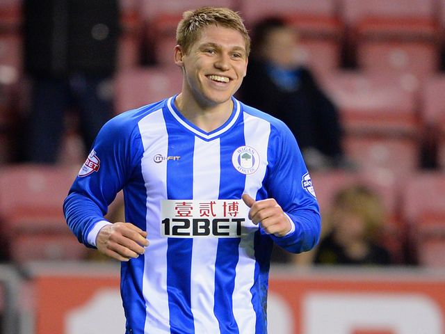Martyn Waghorn scored Wigan's winner