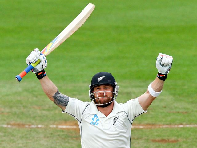 Brendon McCullum: Scored a triple century