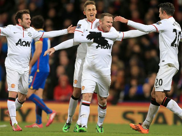 Celebrations for Rooney and Manchester United