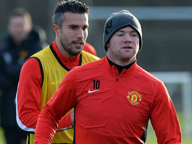 Wayne Rooney and Robin van Persie: One in, one out?