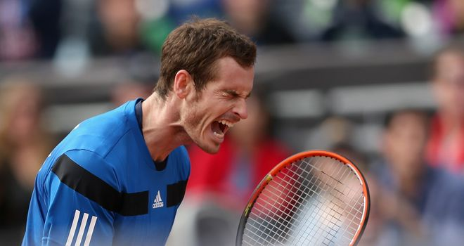Murray: Has fought back from injury and now has sights set on top spot