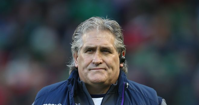 Scott Johnson: His side have lost both Six Nations games so far