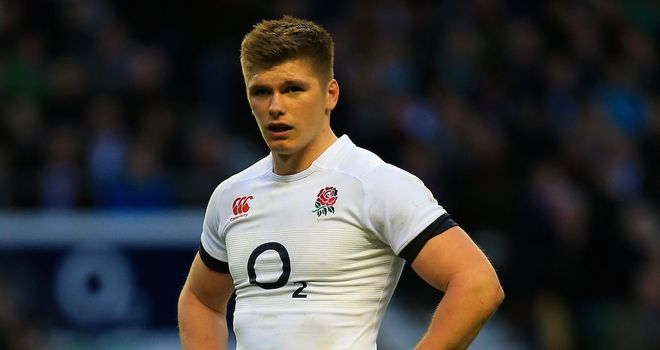 Owen Farrell: England fly-half is inspired by last season's heavy defeat to Wales in Cardiff