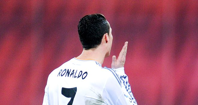 Cristiano Ronaldo gets his marching orders