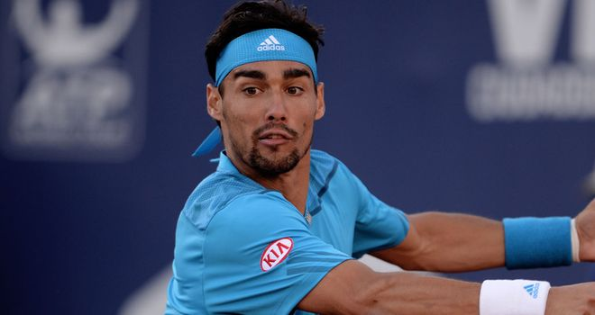 Fabio Fognini reaches final in Buenos Aires on his favourite surface clay