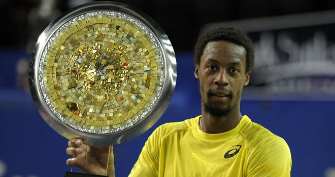 Gael Monfils: Beat fellow countryman Richard Gasquet in the final