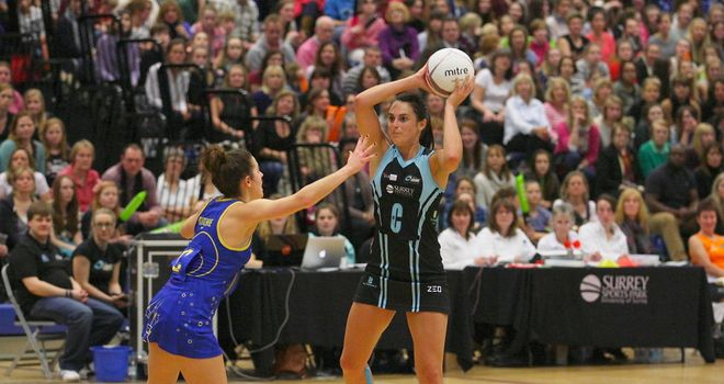 Surrey Storm Kat Ainsworth (Photo Gary Baker)