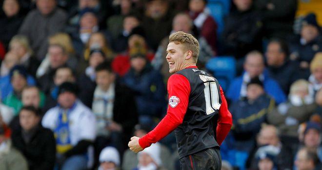 Danny Ward: Hit a second-half hat-trick for Huddersfield at Watford