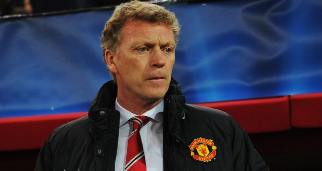 David Moyes: Manchester United boss endured a difficult night on Greek soil