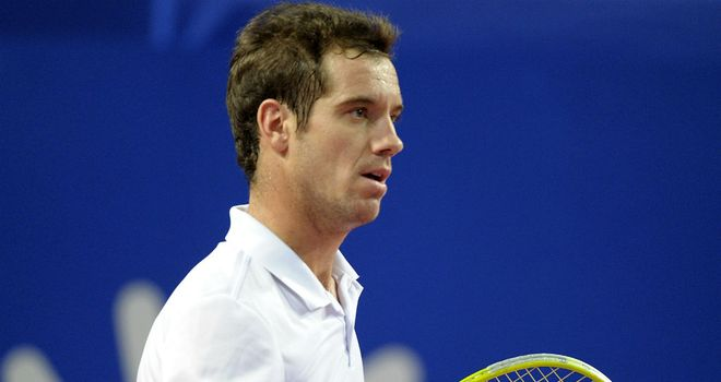 Richard Gasquet: Will meet his fellow countryman Gael Monfils in the final