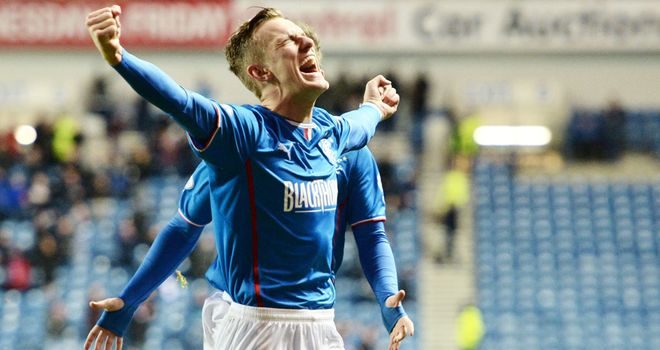 Dean Shiels: Rangers striker scored a hat-trick in the win over Dunfermline