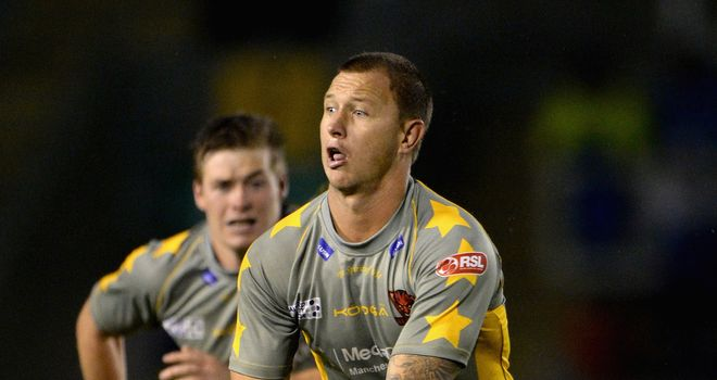 Tim Smith: Looking forward to helping Salford climb the Super League table