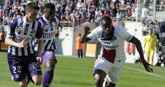 Blaise Matuidi makes progress