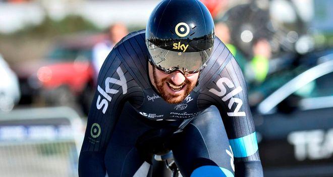 Sir Bradley Wiggins finished 14 seconds down on winner Alejandro Valverde
