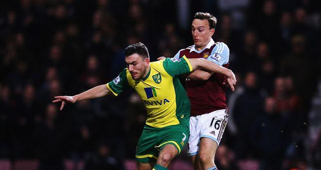 Robert Snodgrass: Norwich need heroes