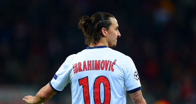 Zlatan Ibrahimovic: Scored twice in a devastating three-minute spell against Leverkusen