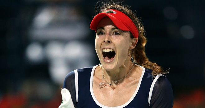 Alize Cornet: First career victory over Serena Williams