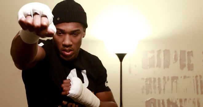 Anthony Joshua: Helping to inspire kids improve their lives