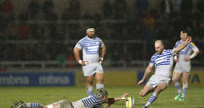 Charlie Hodgson: Saracens fly-half landed four of his five penalties in the second half