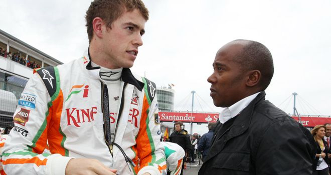 Paul Di Resta and Anthony Hamilton: Out of court settlement