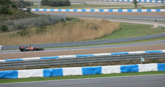 First glimpse of the E22 in action (Picture: Lotus)