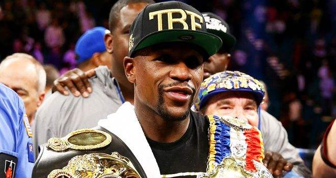 Floyd Mayweather: Still interested in facing Amir Khan