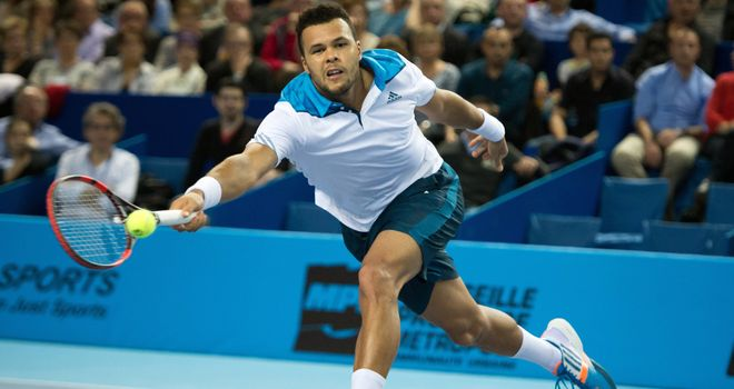 Jo-Wilfried Tsonga: Frenchman bidding for third title in Marseille
