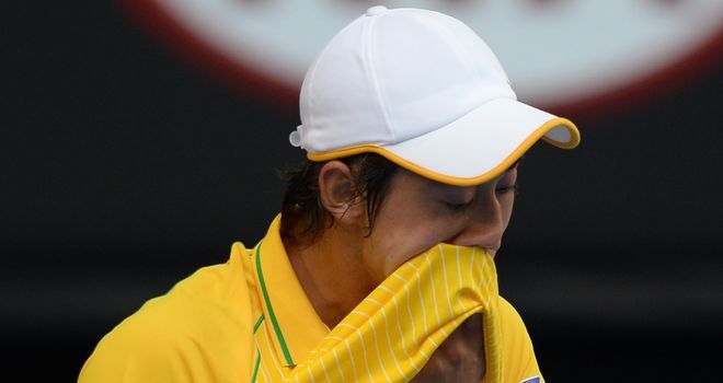 Kei Nishikori: Forced to pull out with a hip injury