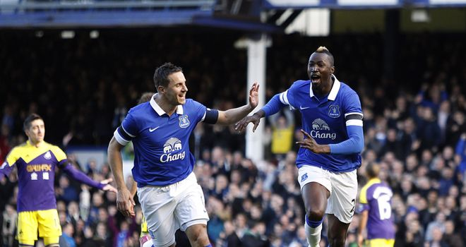 Lacina Traore: Celebrates netting the opener