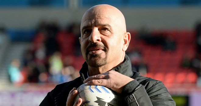 Marwan Koukash: The Salford chairman is interested in buying NRL club Newcastle Knights.