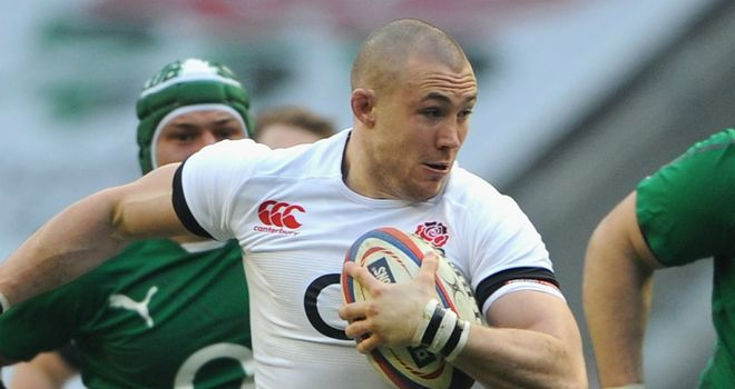 Mike Brown: The Harlequins full-back was outstanding for England against Ireland