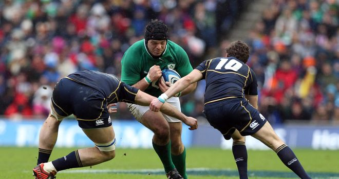 Mike Ross: Ireland prop insists England will still be strong up front