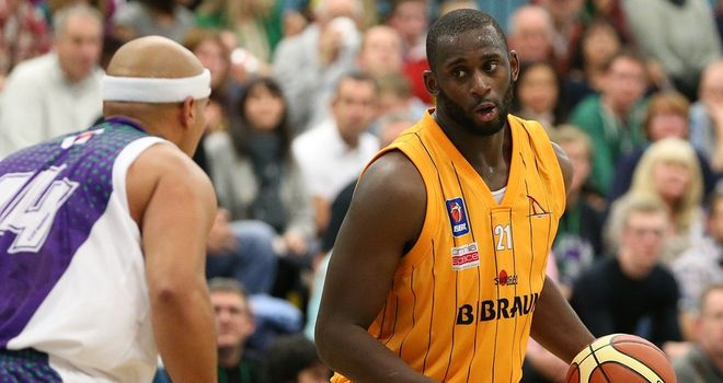 Olu Babalola: scored 20 points in Sheffield Sharks' win