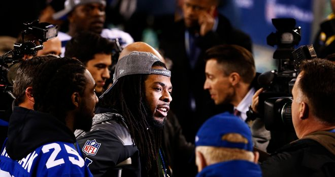 Cornerback Richard Sherman: Praised the Seattle defence