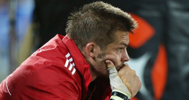 Richie McCaw: Out of action for around two months