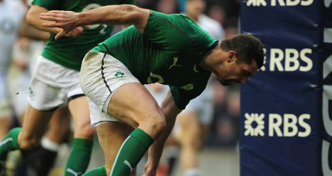 Rob Kearney: Back in Ireland starting line-up