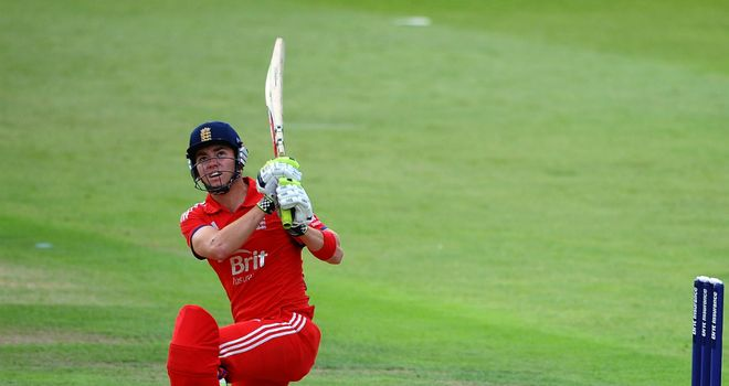 Ryan Higgins: Starred for England with a 123-ball 83