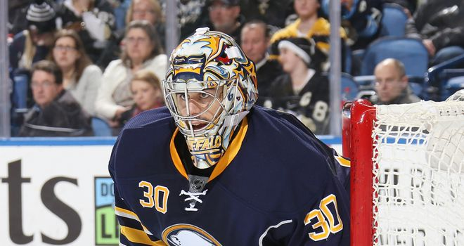 Ryan Miller: Made 36 saves as the Sabres saw off the Hurricanes