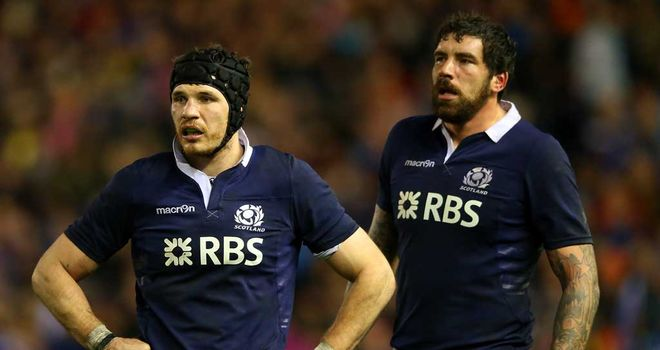 Tim Swinson: Scotland lock preparing for 'huge' game against Italy