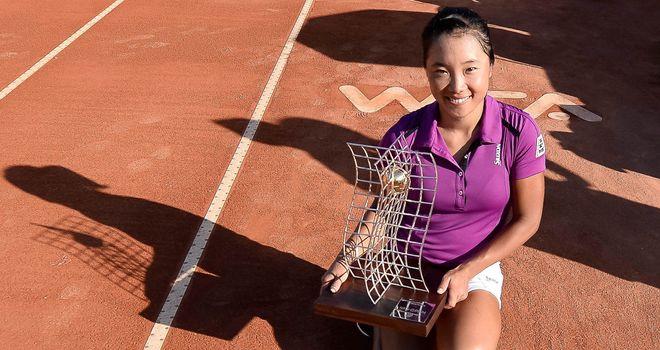 Kurumi Nara: Became the ninth player from Japan to win a WTA title