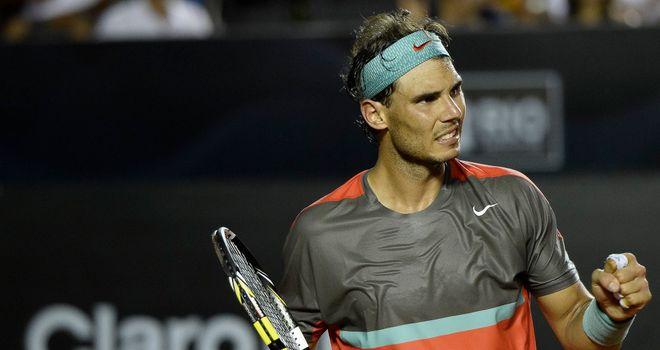 Rafael Nadal: Spaniard back to winning ways in Brazil