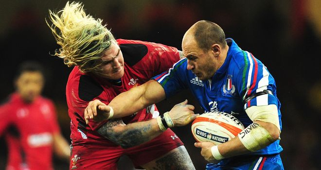 Sergio Parisse: Italy captain focused on victory over Scots