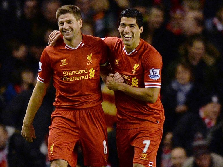 Steven Gerrard doesn't know if Luis Suarez will feature for Liverpool