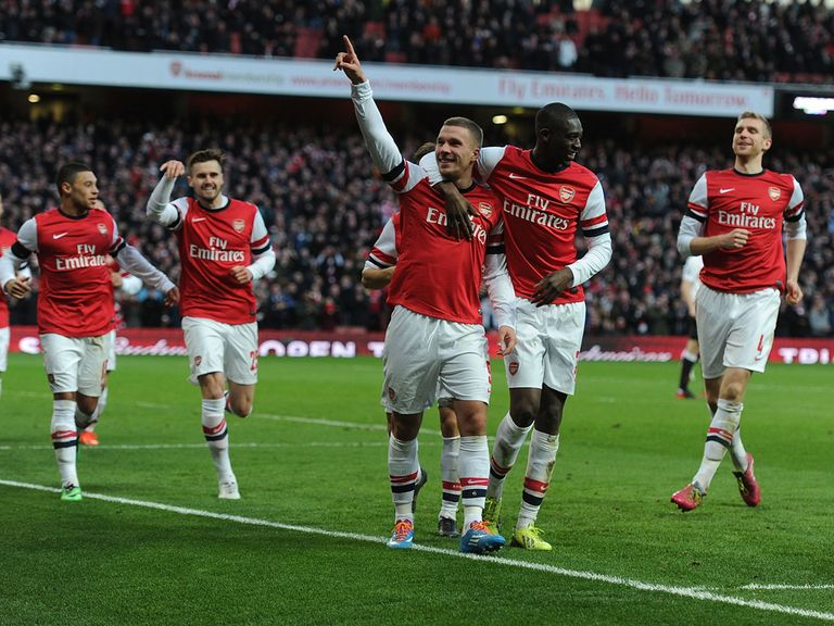 Arsenal enjoy beating Liverpool 2-1 in the fifth round
